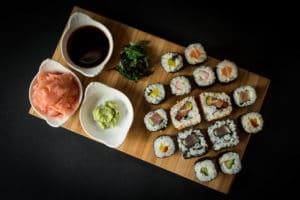 Čerstvé sushi