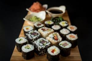 Sushi Wine Food Klaret