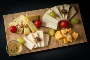 Delikátní sýry k vínům